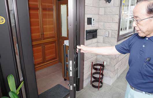 ドアのメンテナンス